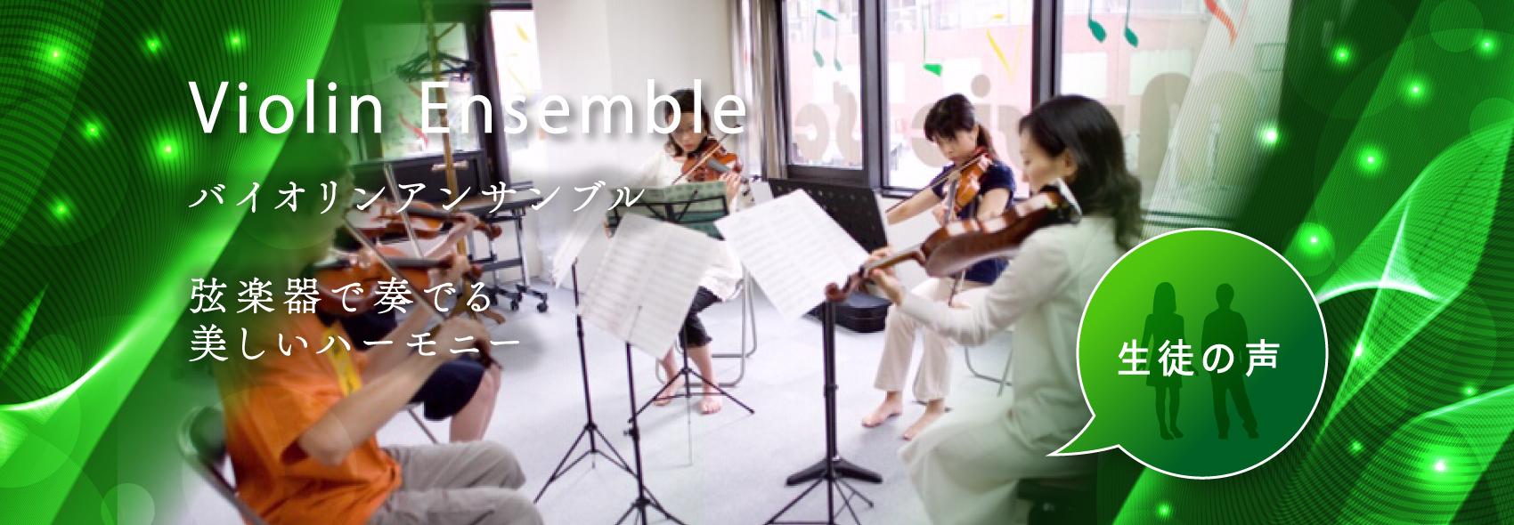 Violin Ensemble 弦楽器で奏でる 美しいハーモニー